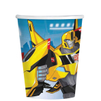 Transformers Robots in Disguise Paper Cups 266ml - 10 PKG/8
