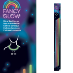 Fancy Glow Assorrted Necklace 56cm - 6 PKG/4