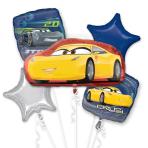 Cars 3 Cruz/Jackson Foil Balloon Bouquets P75 - 3 PC
