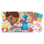 Doc McStuffins Stick the Plaster Game - 95cm x 62cm - 6 PKG