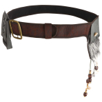 Witch Doctor Belt with Pouch - 2 PC
