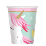 Magical Unicorn Paper Cups 266ml - 12 PKG/8