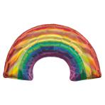 "Iridescent Rainbow SuperShape Foil Balloons 32""/86"" x 19""/48cm P35 - 5 PC"