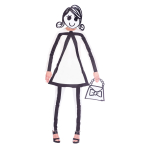 Stick Women Costume - Size 10-12- 1 PC