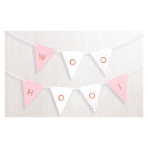 Rose Gold Blush Personalised Banners 4.57m - 6 PC
