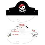 Treasure Island Invitations - 6 PKG/8