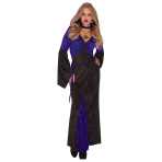 Adults Mistress Of Seduction Vampire Costume - Size 10-12 - 1 PC
