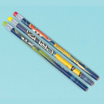 Cars 3 Pencils with Erasers - 6 PKG/12