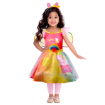 Peppa Pig Rainbow Dress - Age 4-6 Years - 1 PC