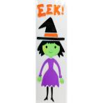 Witch Eek!  Gel Clings15.5cm x 53cm - 12 PC