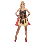 Adults Warrior Princess Costume - Size 14-16 - 1 PC