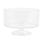 Medium Clear Plastic Trifle Containers 19cm - 6 PC