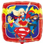 DC Super Hero Girls Standard Foil Balloons S60 - 5 PC