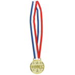 Necklace Award Medals 76cm - 3 PC