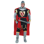 Adults Brave Crusader Knight Costume - Size M/L - 1 PC