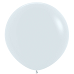 "Fashion Colour Solid White 005 Latex Balloons 36""/91.5cm - 2 PC"
