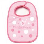 First Birthday Princess Fabric Bibs - 6 PC