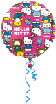 Hello Kitty Character Standard Foil Balloons S60 - 5 PC