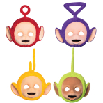 Teletubbies Card Face Masks - 6 PKG/4