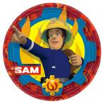 Fireman Sam Paper Plates 23cm - 10 PKG/8