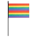 Rainbow Flags 24cm x 14.5cm - 24 PC