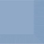Pastel Blue Beverage Napkins 25cm - 12 PKG/50