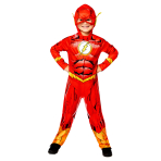 The Flash Sustainable Costume - Age 6-8 Years - 1 PC