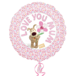 Boofle Love You Mum Standard Foil Balloons S60 - 5 PC