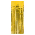 Sunshine Yellow Door Curtain 91cm x 2.43m - 6 PC