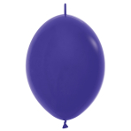 "Fashion Colour Link-O-Loon Solid Violet 051 Latex Balloons 6""/15cm - 100 PC"