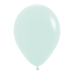 "Pastel Matte Solid Green 630 Latex Balloons 12""/30cm - 50 PC"