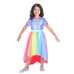 Barbie Rainbow Cove Costume - Age 5-7 Years - 1 PC