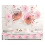 Rose Gold Blush Decoration Kits - 6 PKG/14