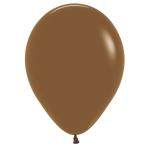"Fashion Colour Solid Coffee 074 Latex Balloons 12""/30cm - 50 PC"