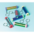 Favour 12 Kaleidoscope Keychain - 6 PKG./12