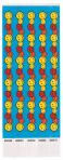 Wristbands Smiley Face Design - 3 PKG/100