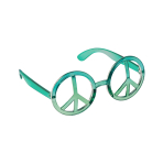 Fun Shades World Peace Tinted - 6 PKG