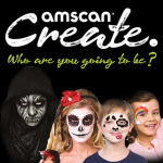 New Amscan Create face paint range...who are you going to be?
