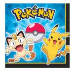 Pokémon Luncheon Napkins 33cm - 6 PKG/16