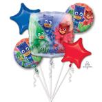 PJ Masks Foil Balloon Bouquets P75 - 3 PC