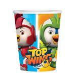 Top Wing Paper Cups 250ml - 6 PKG/8
