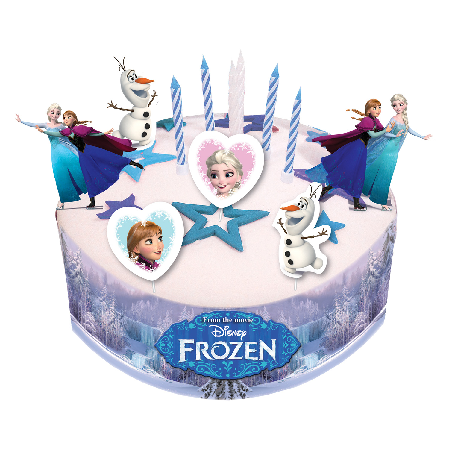 Disney Frozen Cake Decorating Sets 6 PKG19 Amscan International