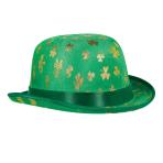 St. Patrick's Day Gold Shamrock Debry Hats 20cm x 22cm - 6 PC