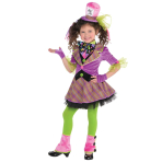 Mad Hatter Costume - Age 6-8 Years - 1 PC