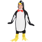 Penguin Costume - Age 4-6 Years - 1 PC