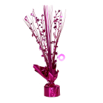 Bright Pink Spray Centrepiece Balloon Weights 30cm - 6 PC