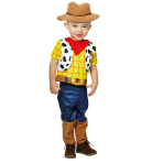 Disney Toy Story Woody Costume with Hat - Age 2 Years - 1 PC