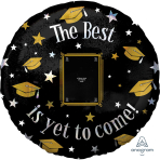The Best is yet to Come Jumbo HX Personalised Foil Balloons - 5 PC