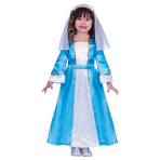 Mary Costume - Age 9-10 Years - 1 PC