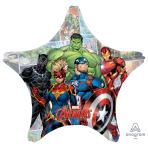 "Avengers Powers Unite Jumbo Foil Balloons 28""/71cm w x 28""/71cm h P38 - 5 PC"